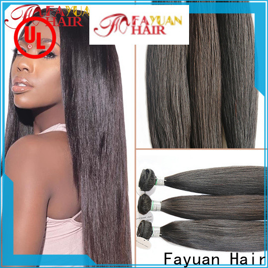 Fayuan Hair unprocessed affordable human hair lace wigs factory for street