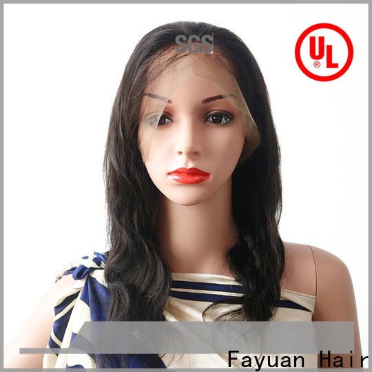 Fayuan Hair Latest where to buy full lace wigs Supply for men