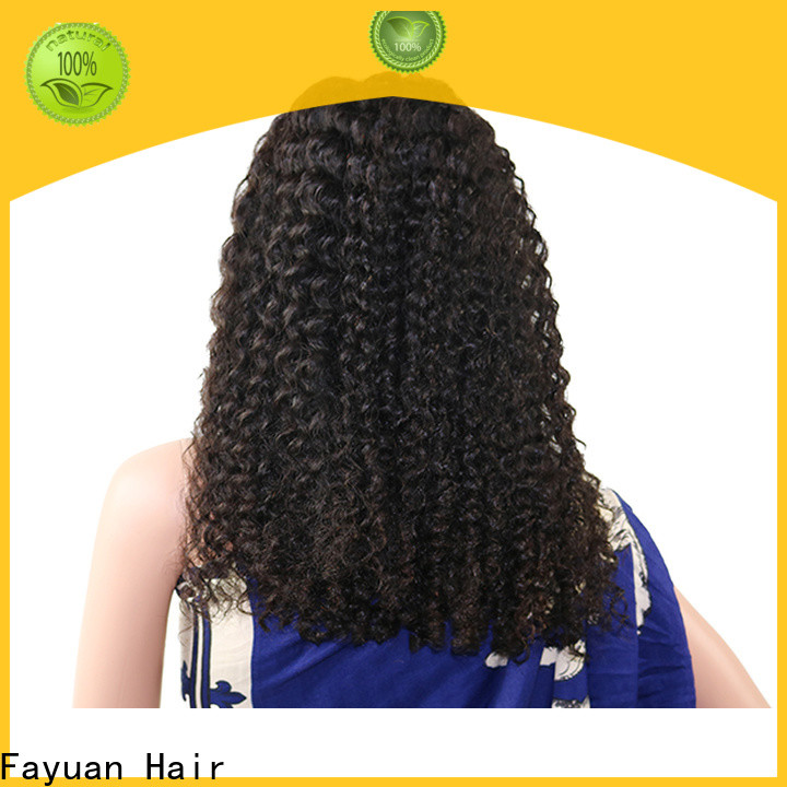 Fayuan Hair New affordable human hair lace front wigs for business for street