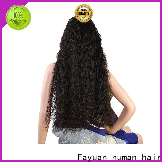 New custom wigs online virgin manufacturers for men