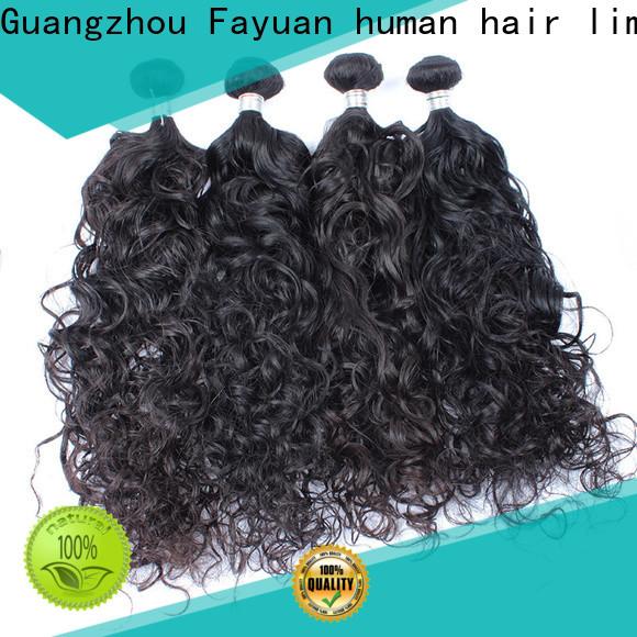 Fayuan Hair deep curly human hair company for barbershopp