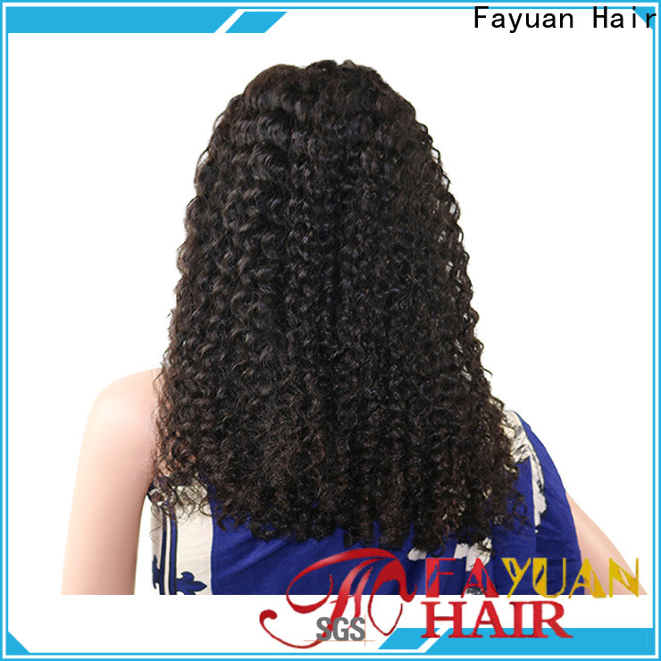 Fayuan Hair discount lace front wigs Suppliers
