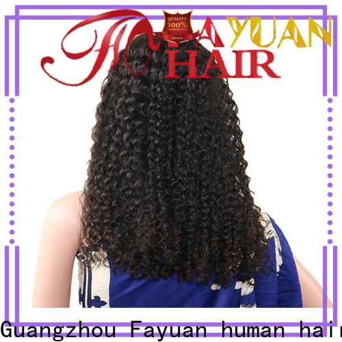 High-quality swiss lace front wigs company