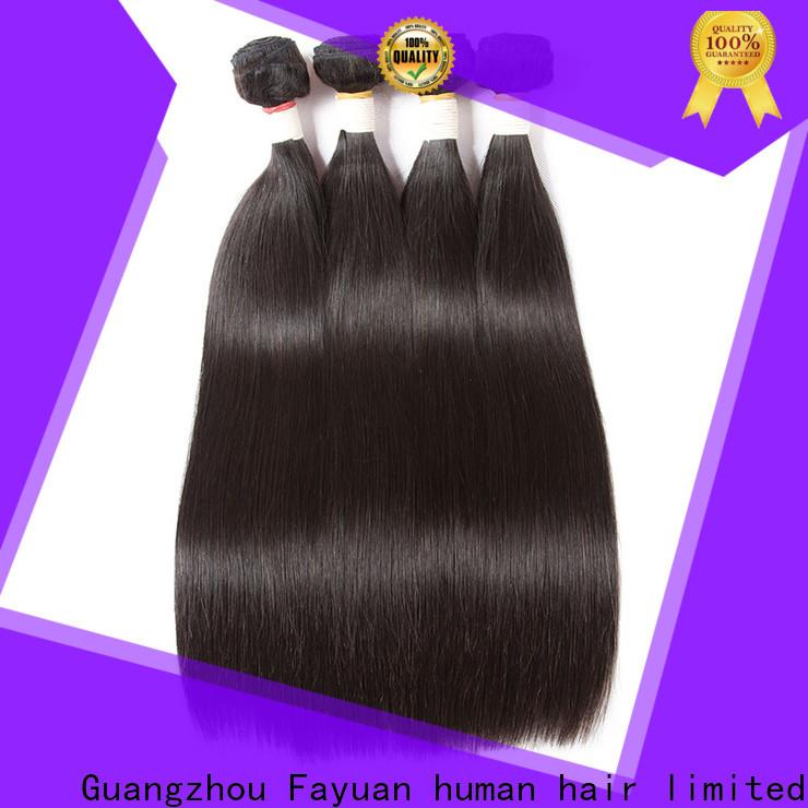 Fayuan Hair brazilian hair extensions bundles for business