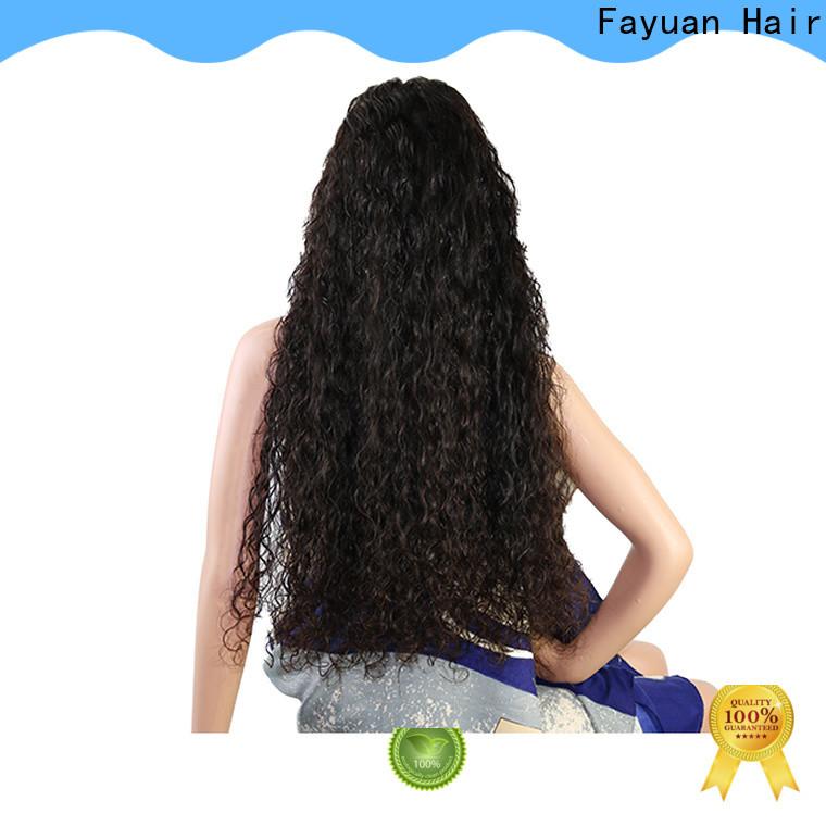 Fayuan Hair High-quality custom virgin hair wigs for business
