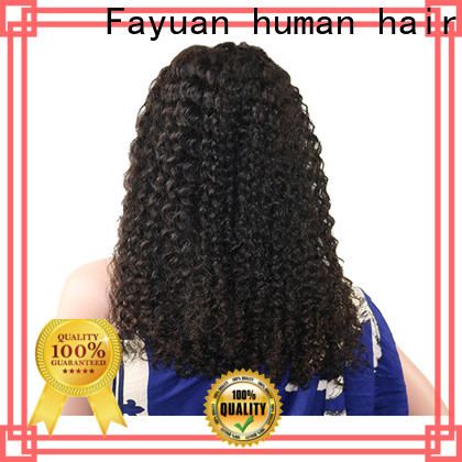 Fayuan Hair curly lace front wigs Suppliers
