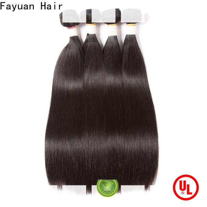 Fayuan Hair Wholesale real brazilian hair extensions Supply