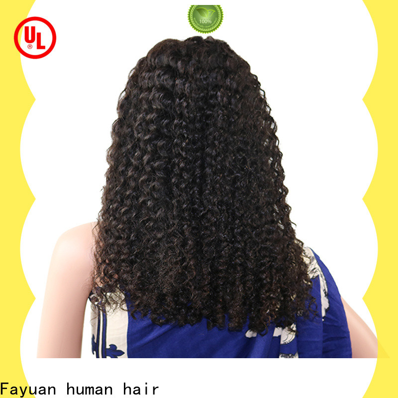 Fayuan Hair lace front wig styles Supply
