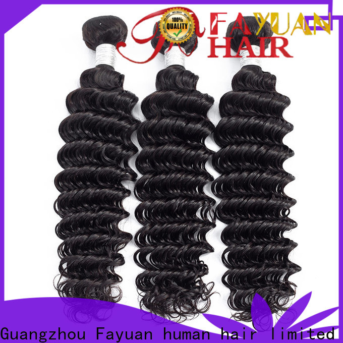Fayuan Hair High-quality peruvian hair curly weave for business