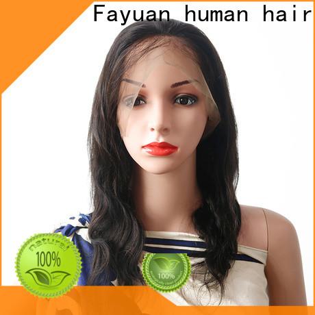 Fayuan Hair High-quality silk top lace wig company