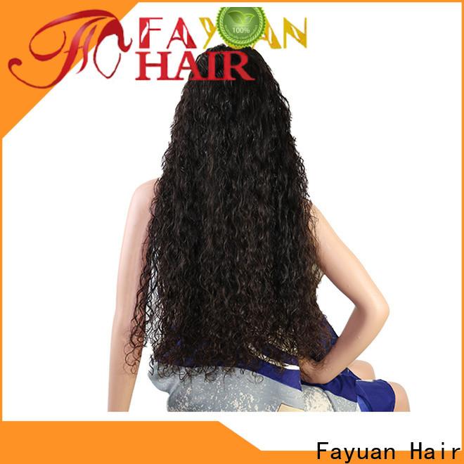 Fayuan Hair custom full lace human hair wigs Supply