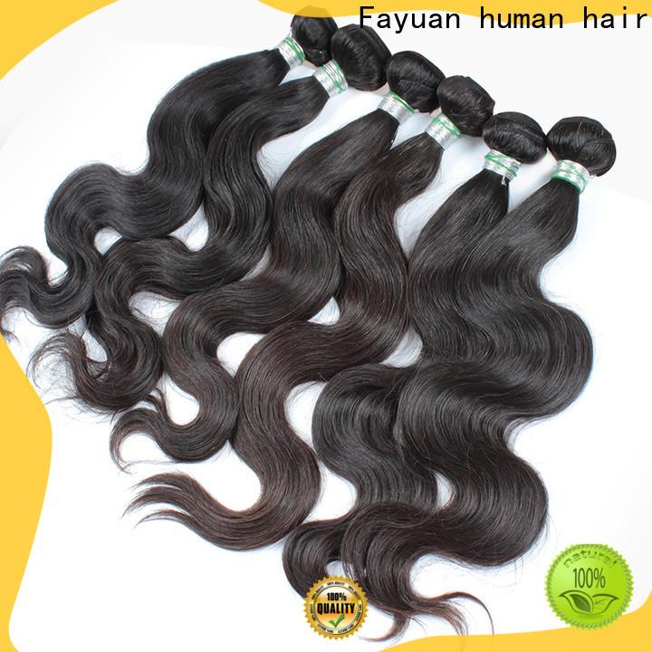 Fayuan Hair wholesale brazilian hair factory