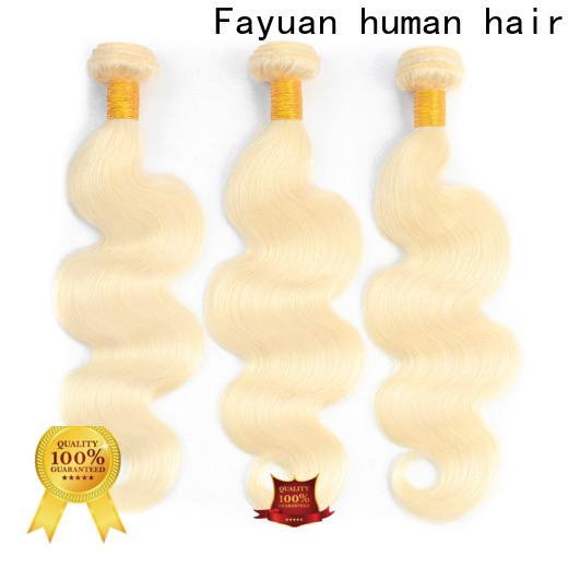 Fayuan Hair High-quality brazilian hair suppliers Supply
