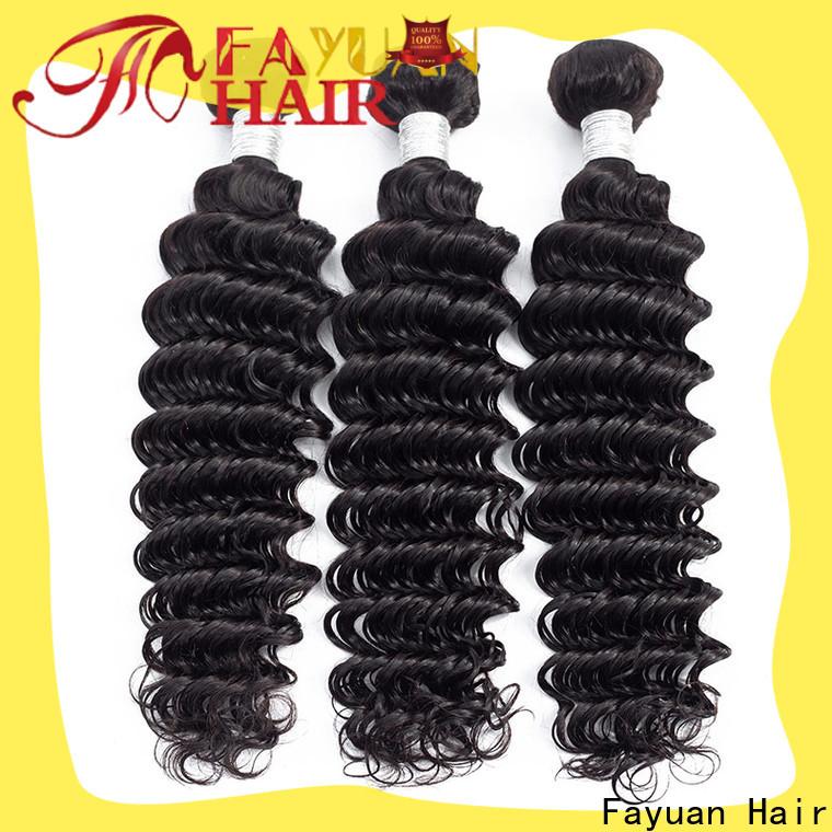 Fayuan Hair Wholesale peruvian natural curly hair Supply
