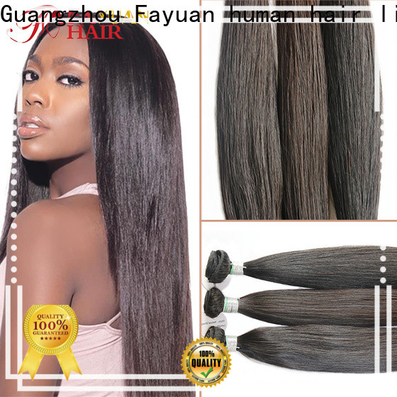 Fayuan Hair full lace synthetic wig factory