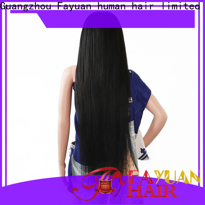 Fayuan Hair custom lace wigs for business