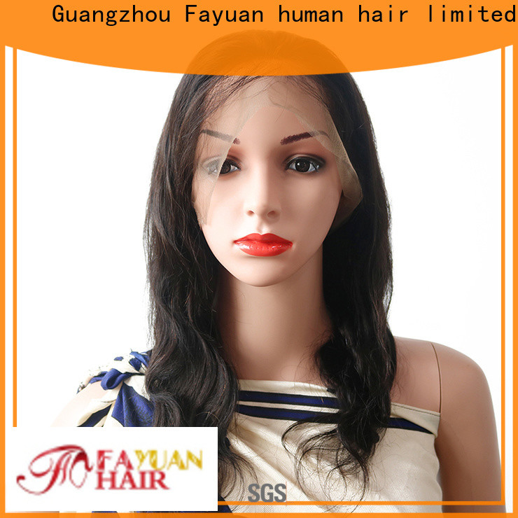 Fayuan Hair High-quality whole lace wig for business