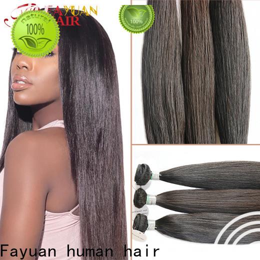 Fayuan Hair virgin human hair full lace wigs for business