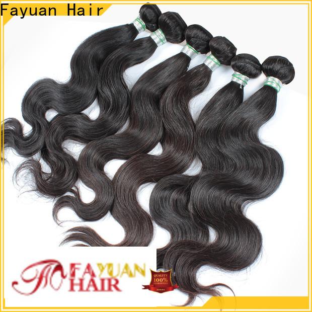 Fayuan Hair Top straight virgin hair Supply