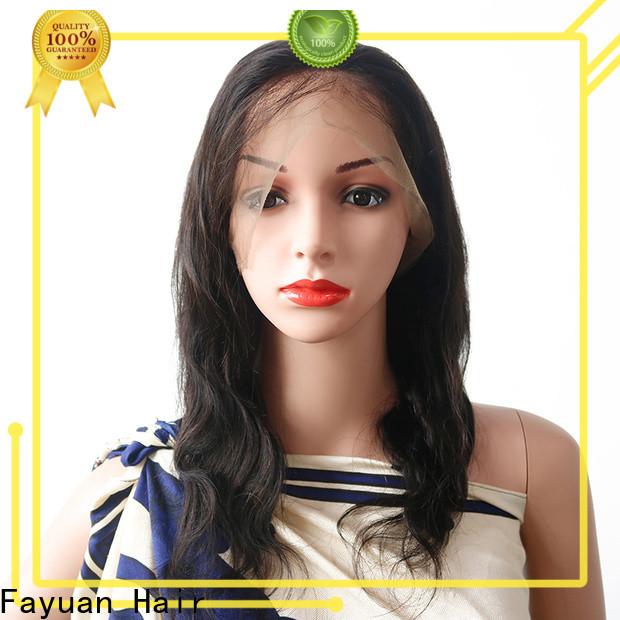 Fayuan Hair Wholesale virgin human hair full lace wigs Supply