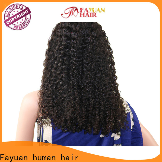 Fayuan Hair quality lace front wigs for business