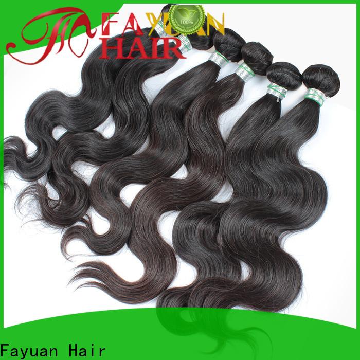 Fayuan Hair Latest wholesale virgin hair factory