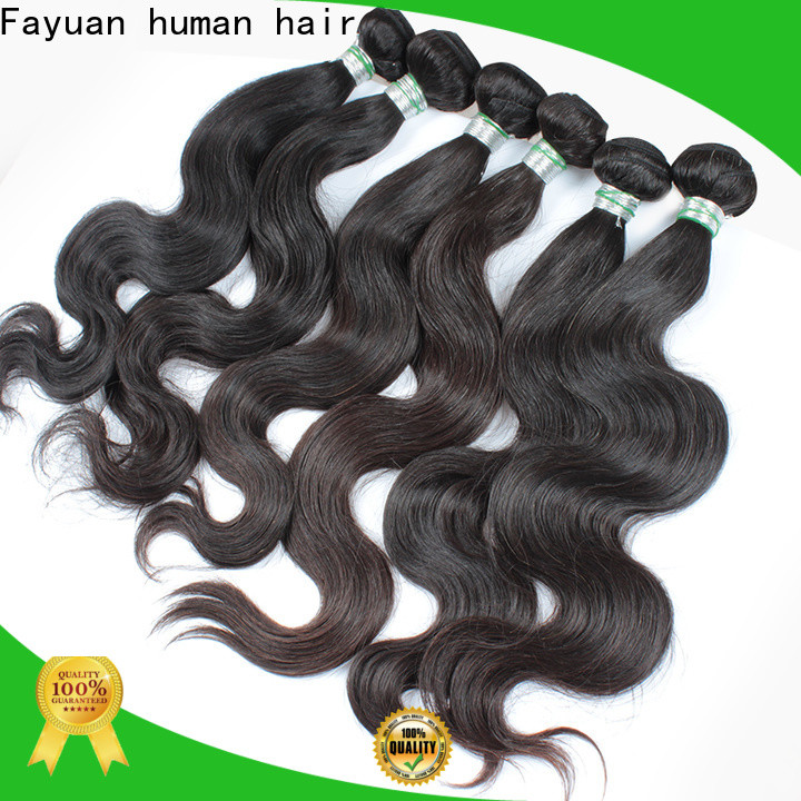 Fayuan Hair Latest cheap brazilian hair bundles Supply