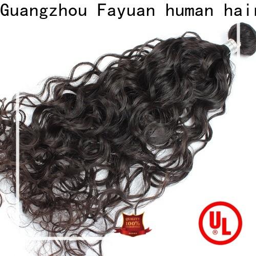 Fayuan Hair Latest virgin remy hair bundles for business