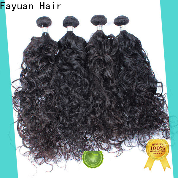 Fayuan Hair Latest curly hair extensions company