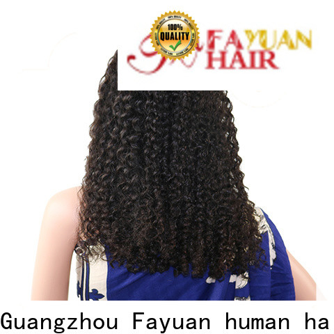 Fayuan Hair lace frontal wig for business
