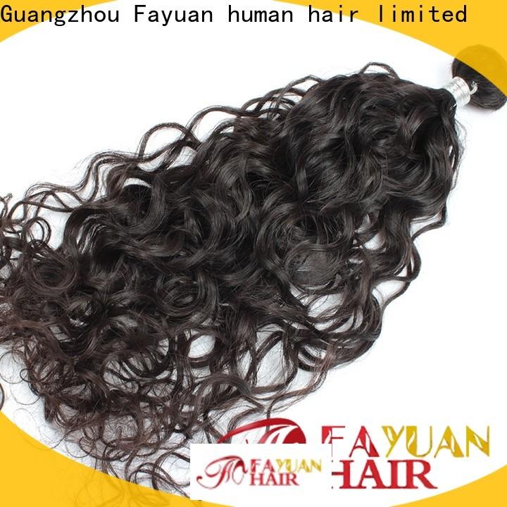 Fayuan Hair New virgin brazilian hair extensions Supply