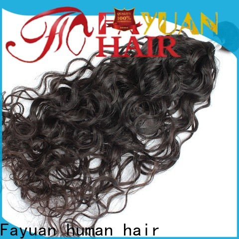 Fayuan Hair raw indian hair wholesale for business