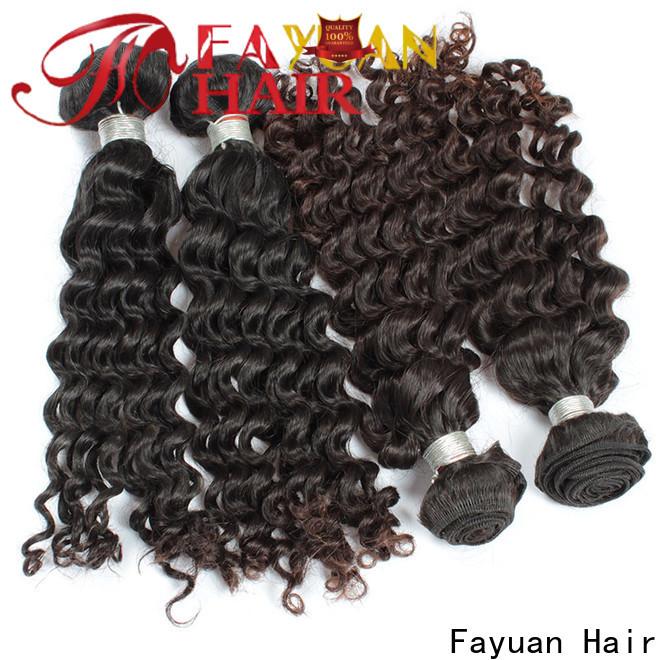 Fayuan Hair High-quality malaysian hair weave for business