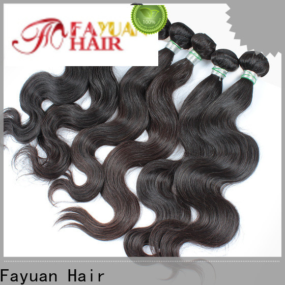 Latest affordable virgin hair bundles factory