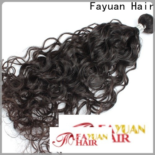 Fayuan Hair indian curly hair extensions Supply