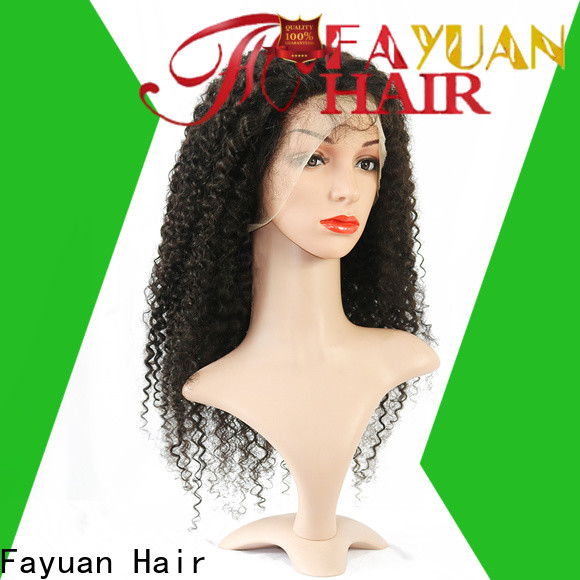 Custom order lace front wigs online Supply