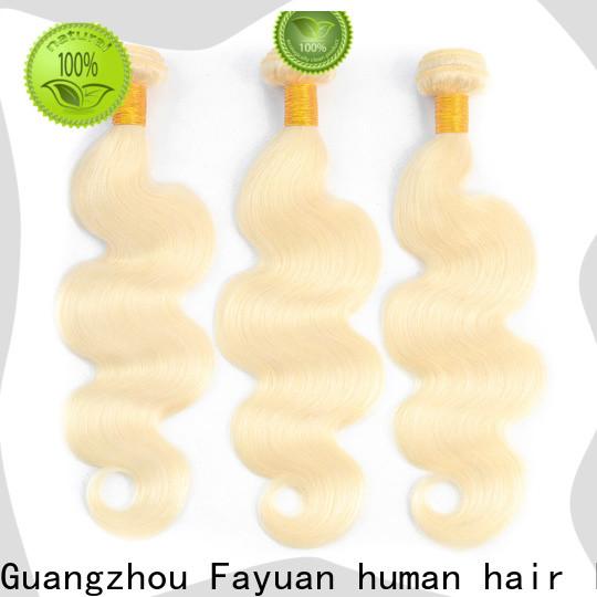 Fayuan Hair cheap brazilian hair extensions company