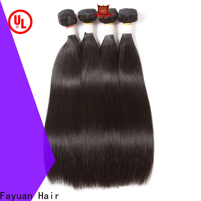 Fayuan Hair Wholesale brazilian hair extensions for sale factory