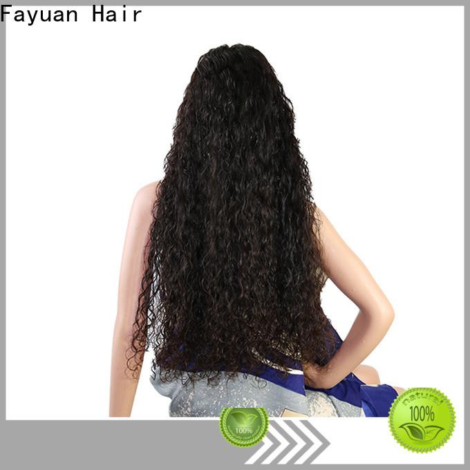 Fayuan Hair Custom custom made full lace wigs factory