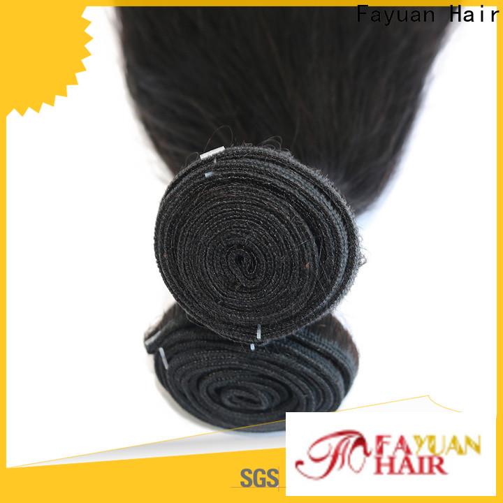 Fayuan Hair straight virgin hair for business