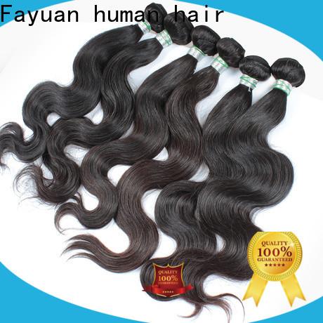 Fayuan Hair brazilian hair for sale cheap company