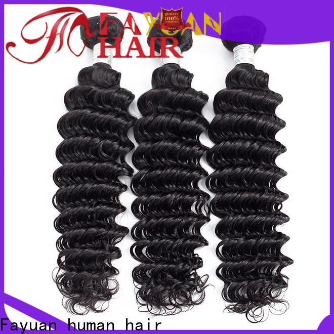 Fayuan Hair peruvian deep body wave hair for business