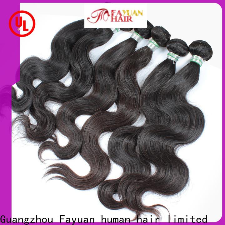 Fayuan Hair virgin remy hair bundles Suppliers
