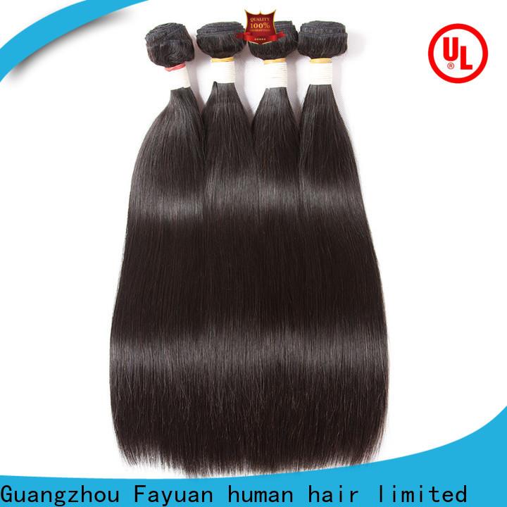 Fayuan Hair Custom brazilian body wave hair manufacturers