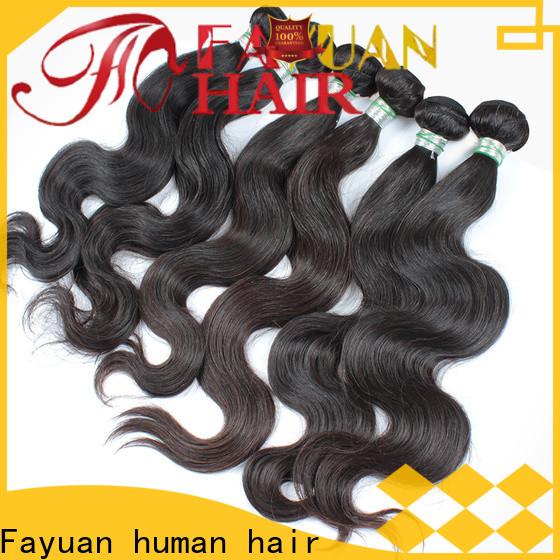 Fayuan Hair indian virgin hair wholesale for business