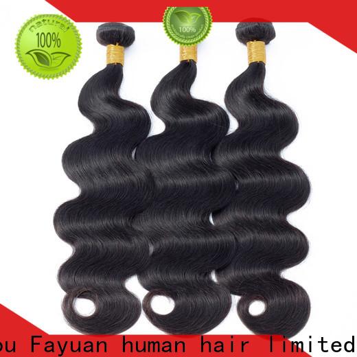 Fayuan Hair Custom wholesale peruvian hair weave Supply