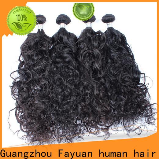 Fayuan Hair malaysian curly hair with closure company