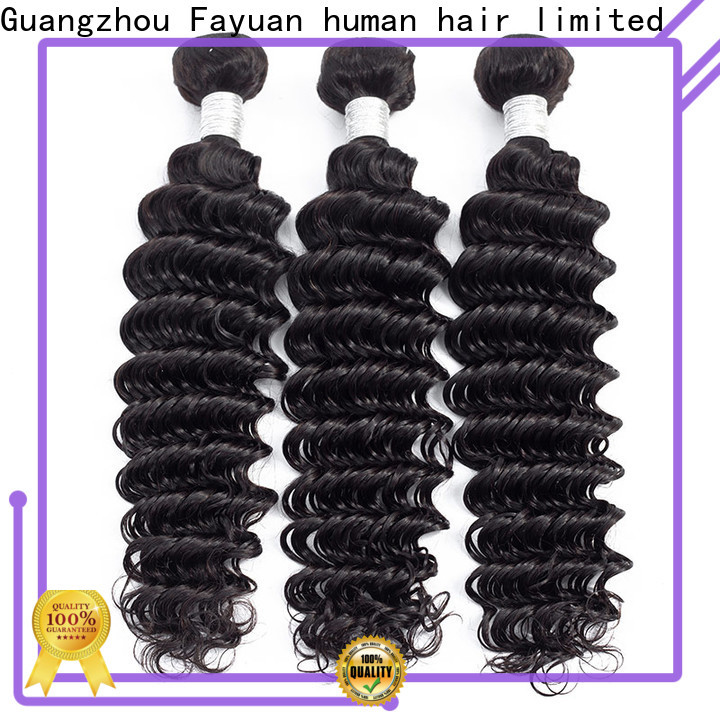 Fayuan Hair peruvian deep body wave hair manufacturers