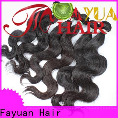 Fayuan Hair quality virgin hair Suppliers