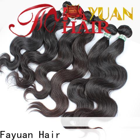 New human hair weave bundles company